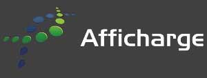 Logo Afficharge, agence publicitaire au Québec